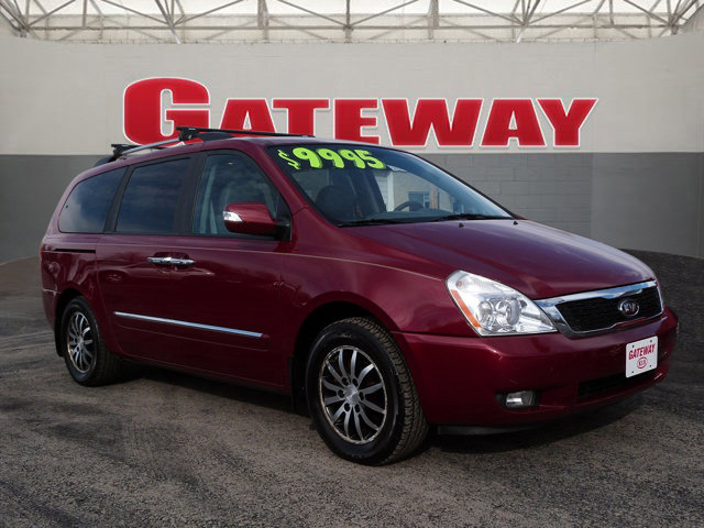 2011 Kia Sedona 4dr LWB EX CLARET RED Back-Up Camera
