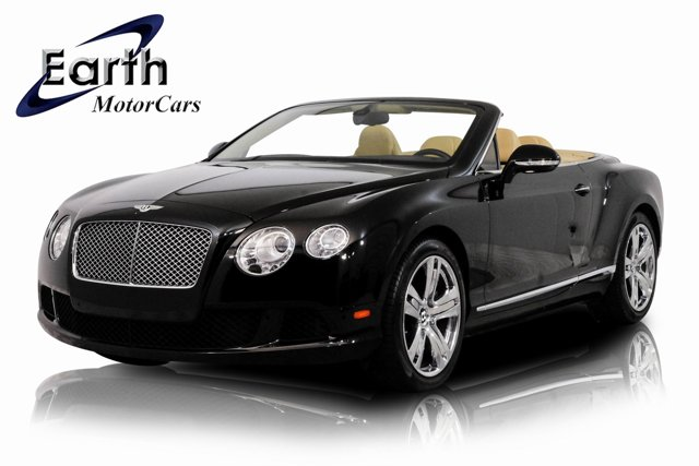 2013 Bentley Continental GT 2dr Conv GRAY