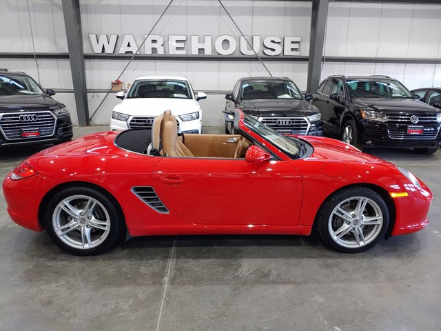 2009 Porsche Boxster 2dr Roadster GUARDS RED