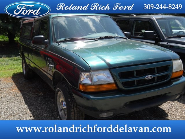 "1999 Ford Ranger Supercab 126"" WB XLT JALAPENO GREEN METALLIC"