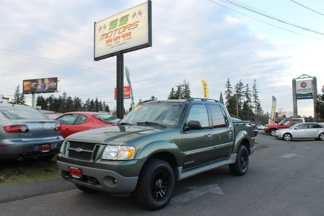 2002 Ford Explorer Sport Trac ASPEN GREEN CLEARCOAT METALLIC