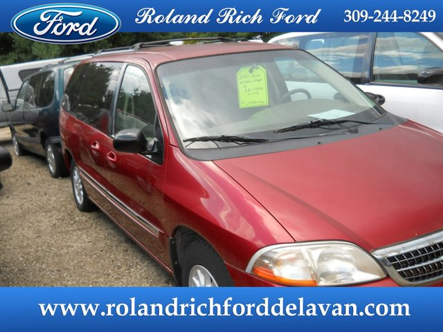 2000 Ford Windstar Wagon 4dr SE CABERNET RED METALLIC