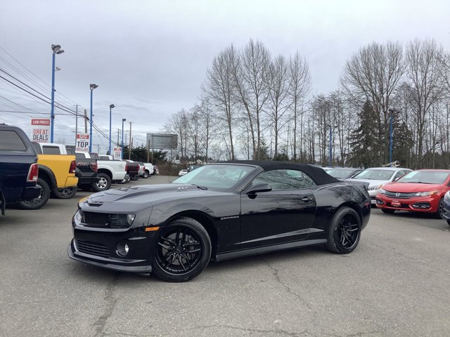 2012 Chevrolet Camaro 2dr Conv 1SS BLACK Bluetooth Connection