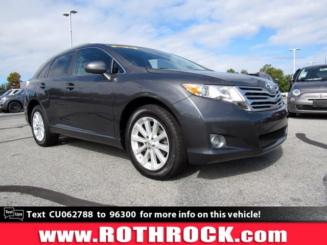 2012 Toyota Venza 4dr Wgn I4 FWD LE MAGNETIC GRAY METALLIC