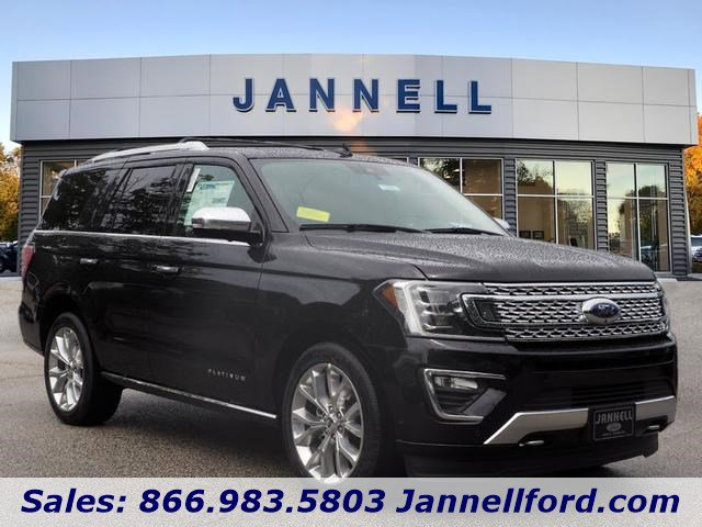 2019 Ford Expedition PLATINUM 4X4 BLACK
