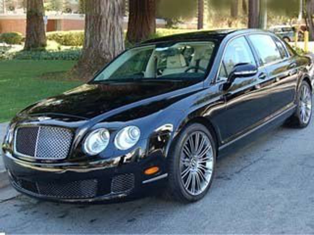 2013 Bentley Continental Flying Spur 4dr Sdn Beluga Solid