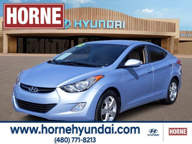 2012 Hyundai Elantra 4dr Sdn Auto GLS (Alabama Plant) Blue Sky