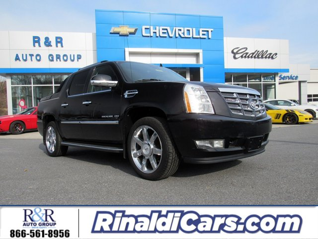2012 Cadillac Escalade EXT AWD 4dr Luxury BLACK RAVEN