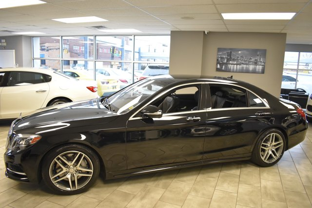 Certified 2015 Mercedes-Benz S-Class 4dr Sdn S550 4MATIC BLACK