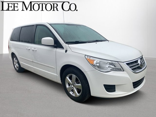 2010 Volkswagen Routan WHITE Back-Up Camera