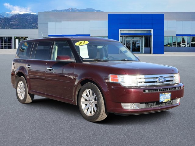 2011 Ford Flex 4dr SEL AWD Bordeaux Reserve Red Metallic