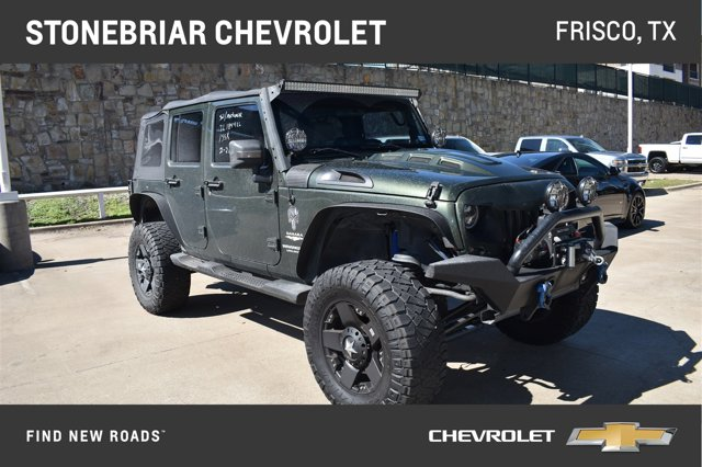 2007 Jeep Wrangler 2WD 4dr Unlimited Sahara Jeep Green Metallic