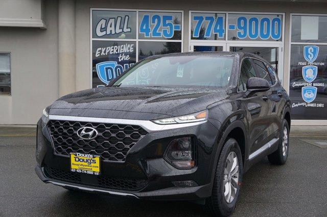 2020 Hyundai Santa Fe SEL 2.4L Auto AWD TWILIGHT BLACK
