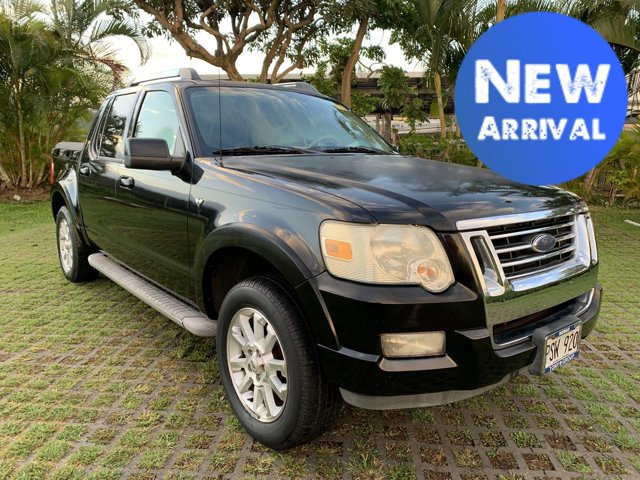 2007 Ford Explorer Sport Trac 2WD 4dr V8 Limited BLACK
