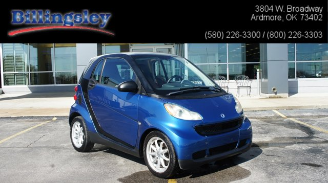 2008 Smart fortwo 2dr Cpe Passion BLUE METALLIC