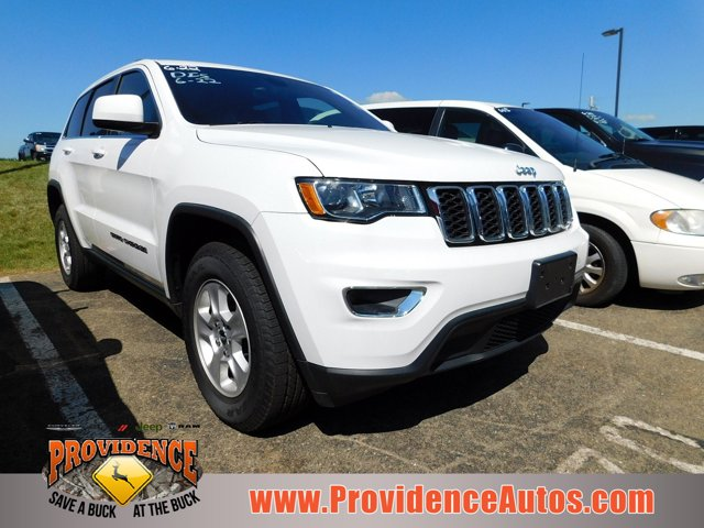 2017 Jeep Grand Cherokee LAREDO 4X4 BRIGHT WHITE CLEARCOAT