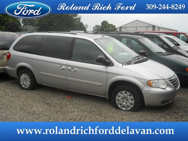 2006 Chrysler Town & Country LWB 4dr LX BRIGHT SILVER METALLIC