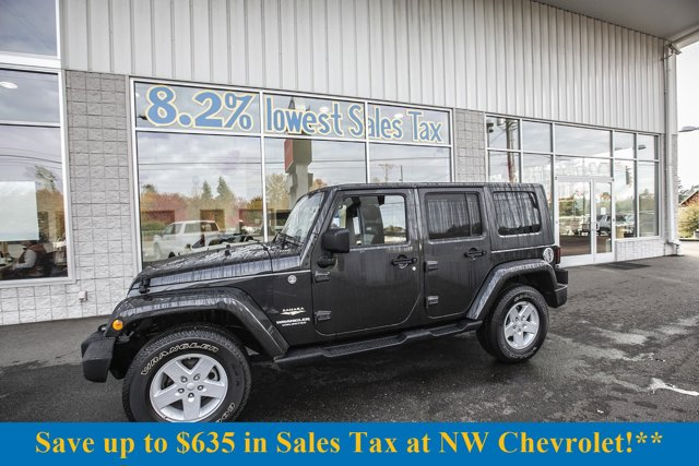 2010 Jeep Wrangler Unlimited 4WD 4dr Sahara Dark Charcoal Pearl
