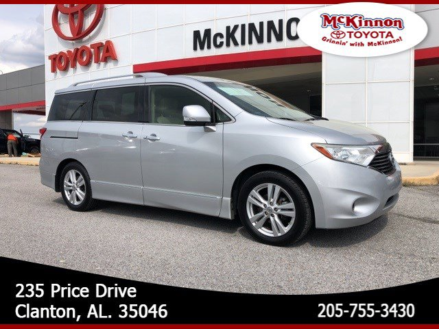 2012 Nissan Quest 4dr SL BRILLIANT SILVER Aluminum Wheels
