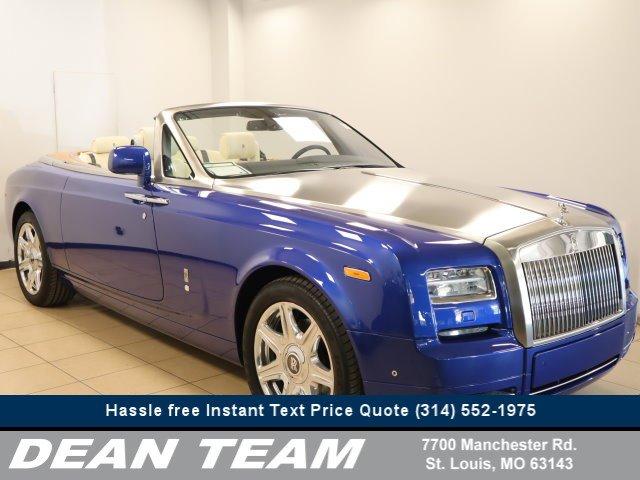 2014 Rolls-Royce Phantom Coupe 2dr Drophead Arabian Blue