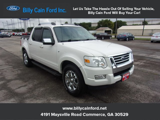 2008 Ford Explorer Sport Trac RWD 4dr V8 Limited WHITE SUEDE