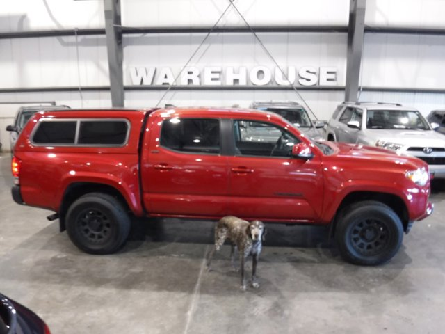 2016 Toyota Tacoma 4WD Double Cab V6 AT SR5 BARCELONA RED