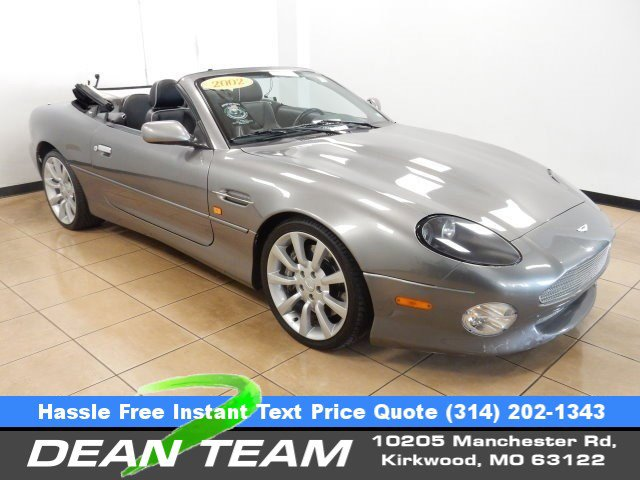 2002 Aston Martin DB7 Vantage TITAN GRAY SOFT TOP