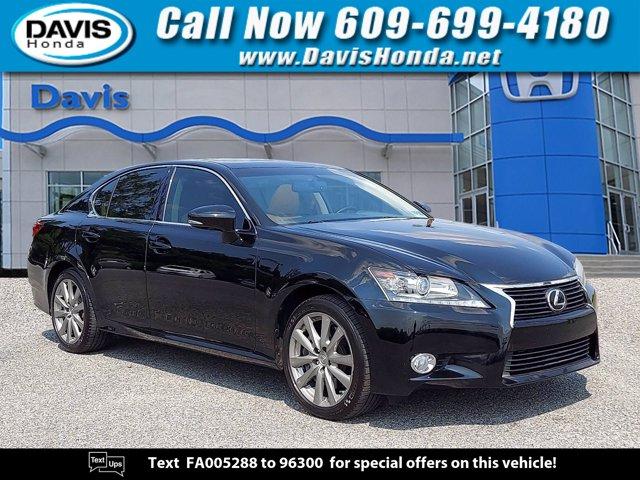 2015 Lexus GS 350 4dr Sdn AWD BLACK AM/FM radio: SiriusXM