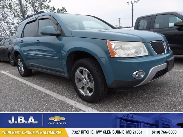 2008 Pontiac Torrent FWD 4dr TEAL METALLIC Bucket Seats