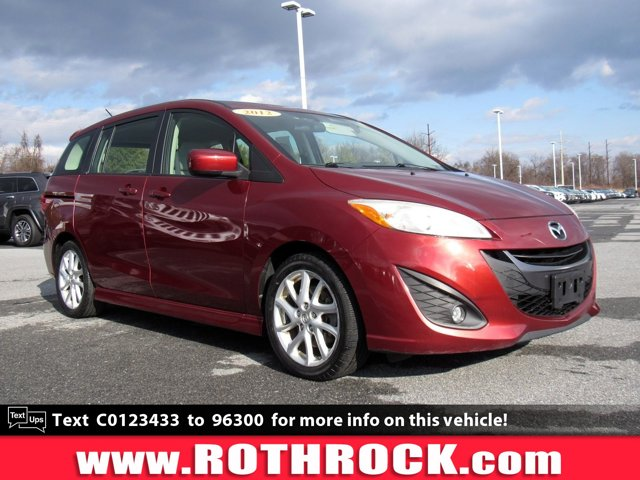 2012 Mazda MAZDA5 4dr Wgn Auto Touring COPPER RED