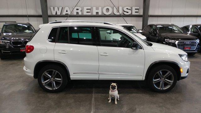 2017 Volkswagen Tiguan 2.0T Sport 4MOTION PURE WHITE