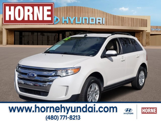 2012 Ford Edge 4dr SEL FWD WHITE Bucket Seats