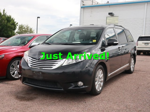 2013 Toyota Sienna BLACK CD Player Brake Assist Back-Up Camera