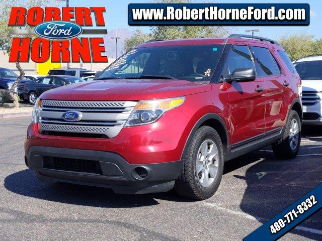 2014 Ford Explorer FWD 4dr Base RED Child Safety Locks CD Playe