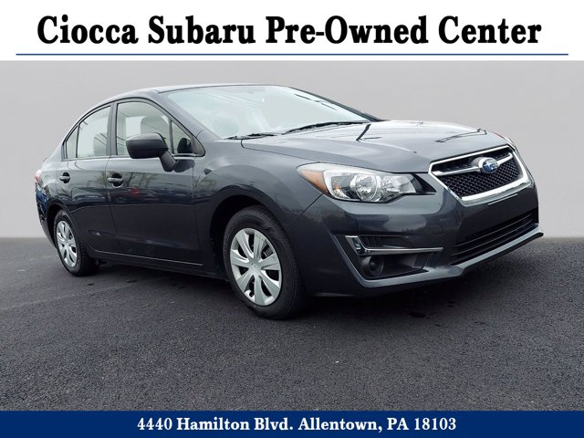 2015 Subaru Impreza Sedan 4dr CVT 2.0i DARK GRAY METALLIC