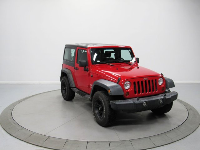 2012 Jeep Wrangler 4WD 2dr Sport FLAME RED Auxiliary Audio Inpu