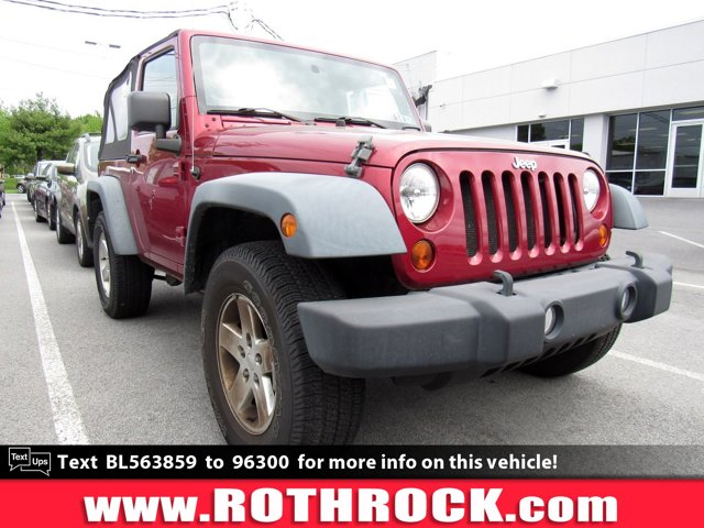 2011 Jeep Wrangler 4WD 2dr Sport Deep Cherry Red Crystal Pearl
