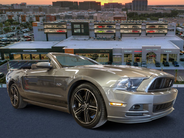 2014 Ford Mustang 2dr Conv GT Sterling Gray Metallic [gray]