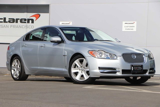 2010 Jaguar XF 4dr Sdn Luxury SILVER Bucket Seats