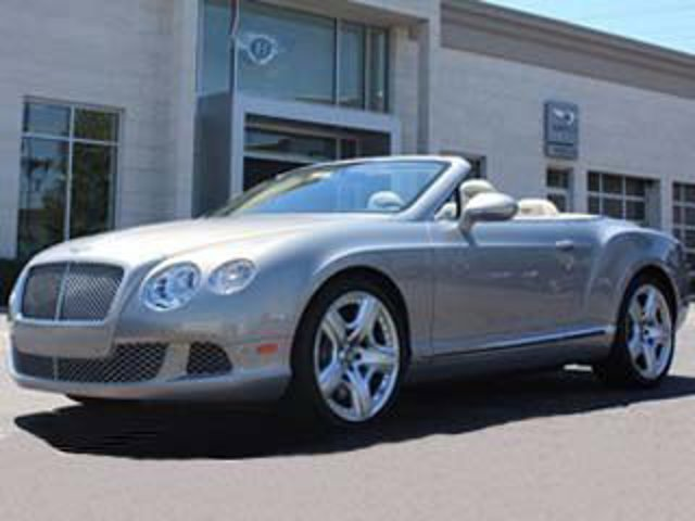 2013 Bentley Continental GT 2dr Conv Extreme Silver