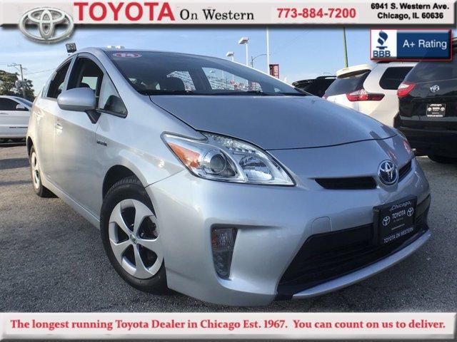 2014 Toyota Prius SILVER Bucket Seats Brake Assist