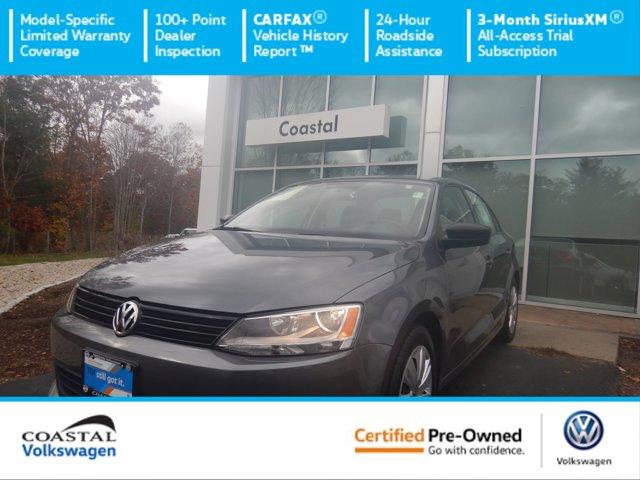 Certified 2014 Volkswagen Jetta Sedan 4dr Man TDI Value Edition