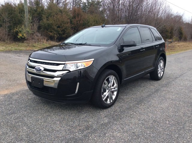 2013 Ford Edge 4dr SEL AWD BLACK Bluetooth Connection