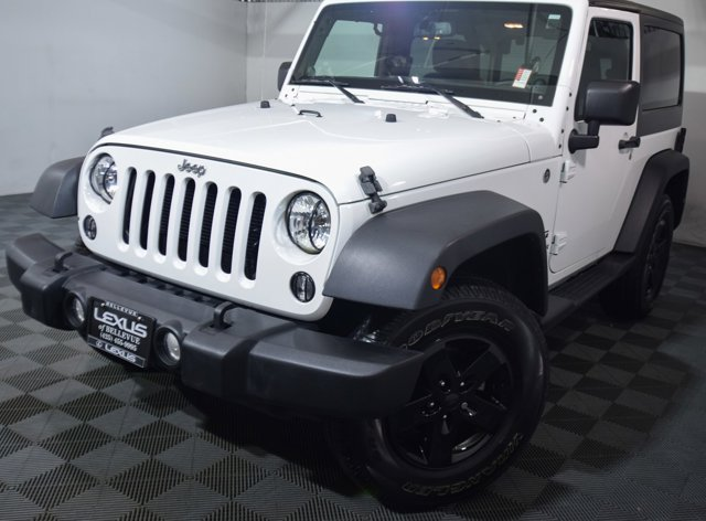 2014 Jeep Wrangler 4WD 2dr Sport BRIGHT WHITE CLEARCOAT