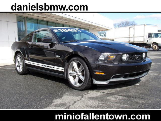 2012 Ford Mustang 2dr Cpe GT Premium BLACK Bucket Seats