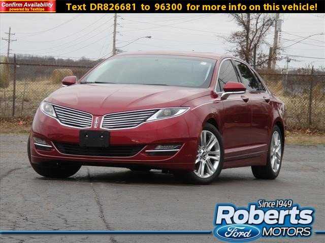 2013 Lincoln MKZ 4dr Sdn FWD Ruby Red Metallic Tinted Clearcoat
