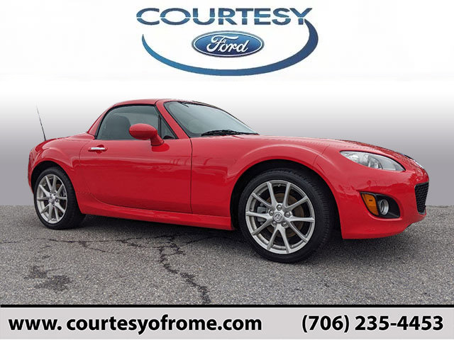 2012 Mazda MX-5 Miata 2dr Conv Hard Top Man Touring TRUE RED