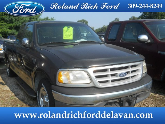 "1999 Ford F-150 Supercab 139"" XLT DEEP BLUE METALLIC"