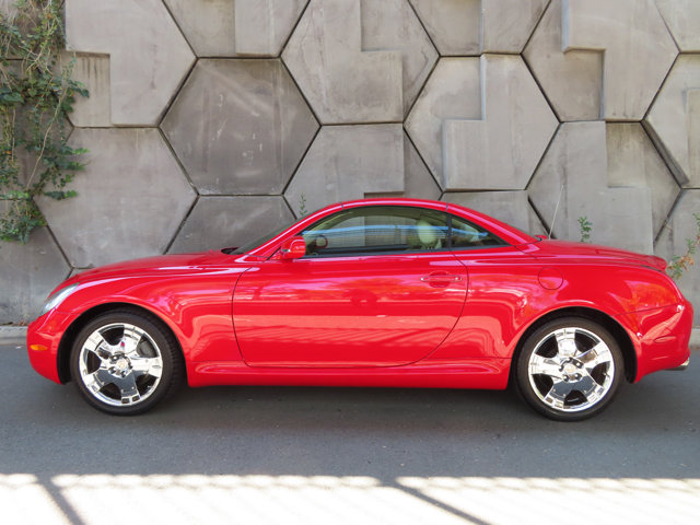 2005 Lexus SC 430 2dr Convertible ABSOLUTELY RED
