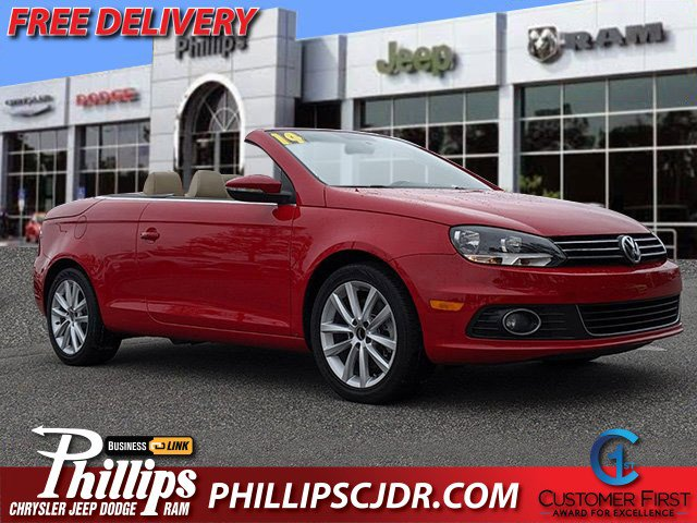 2014 Volkswagen Eos Climate Control CD Player Bucket Seats